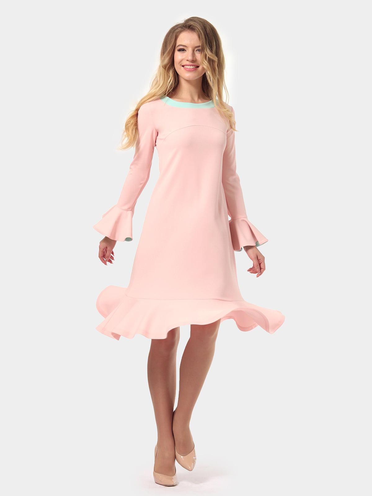 Платье цвета пудры   4784927   фото 4