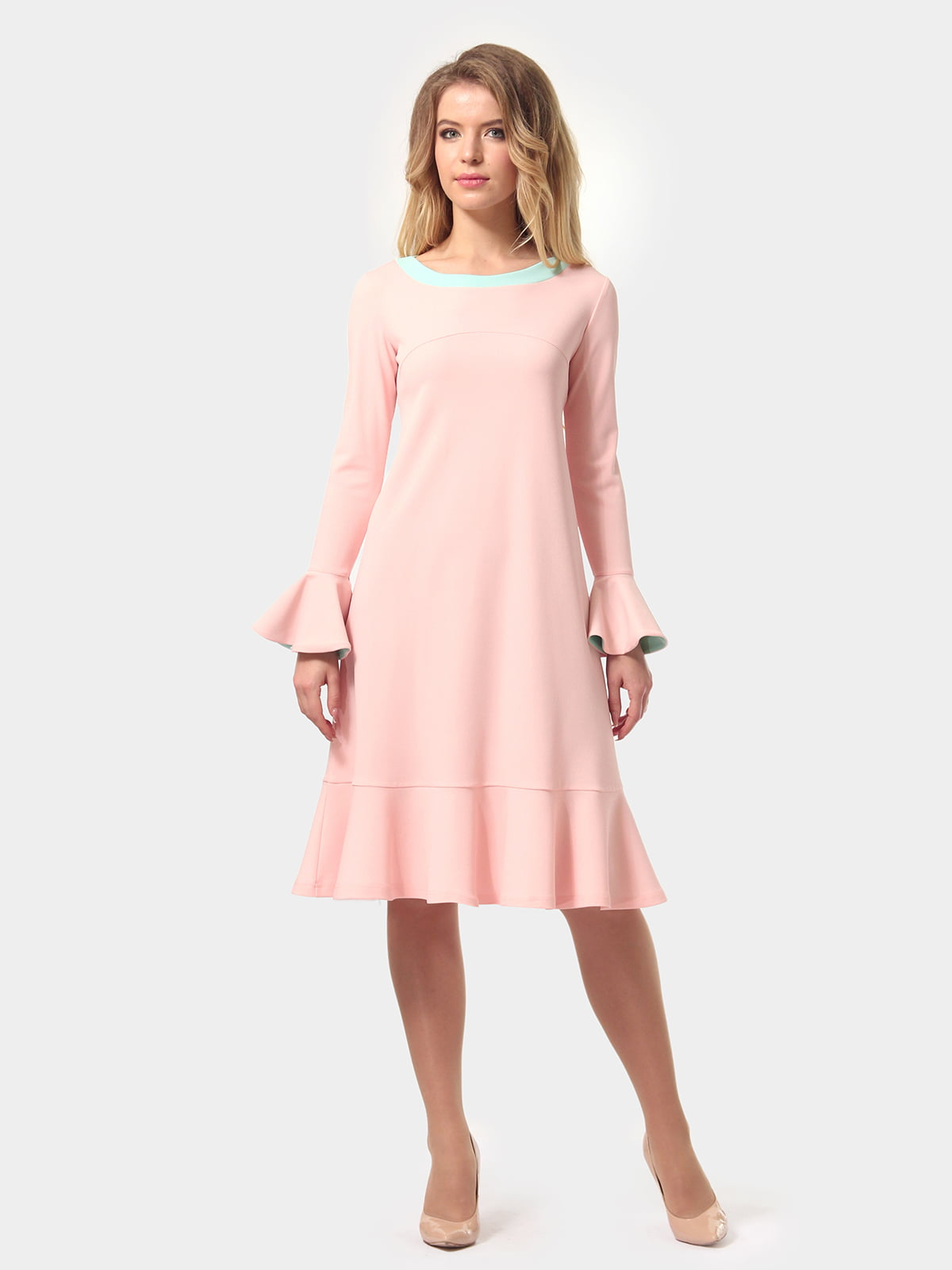 Платье цвета пудры   4784927   фото 5