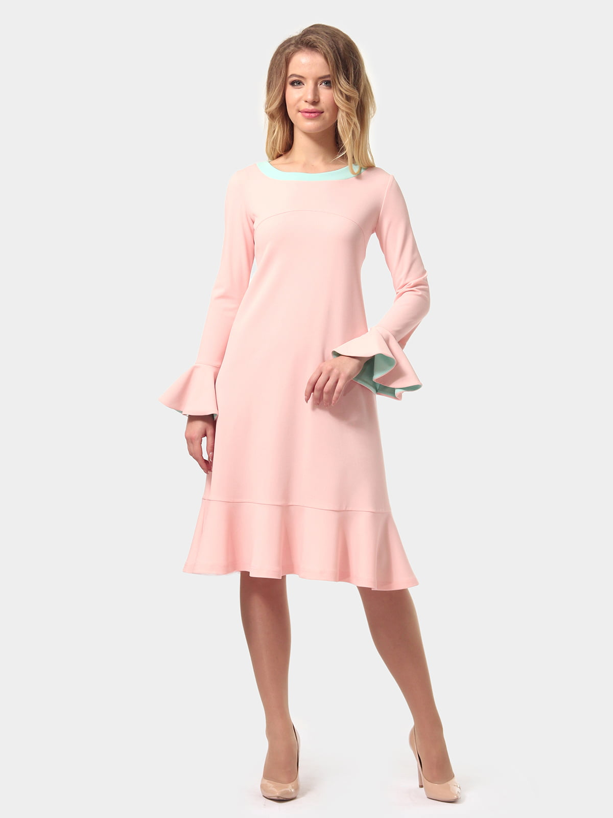 Платье цвета пудры   4784927   фото 6