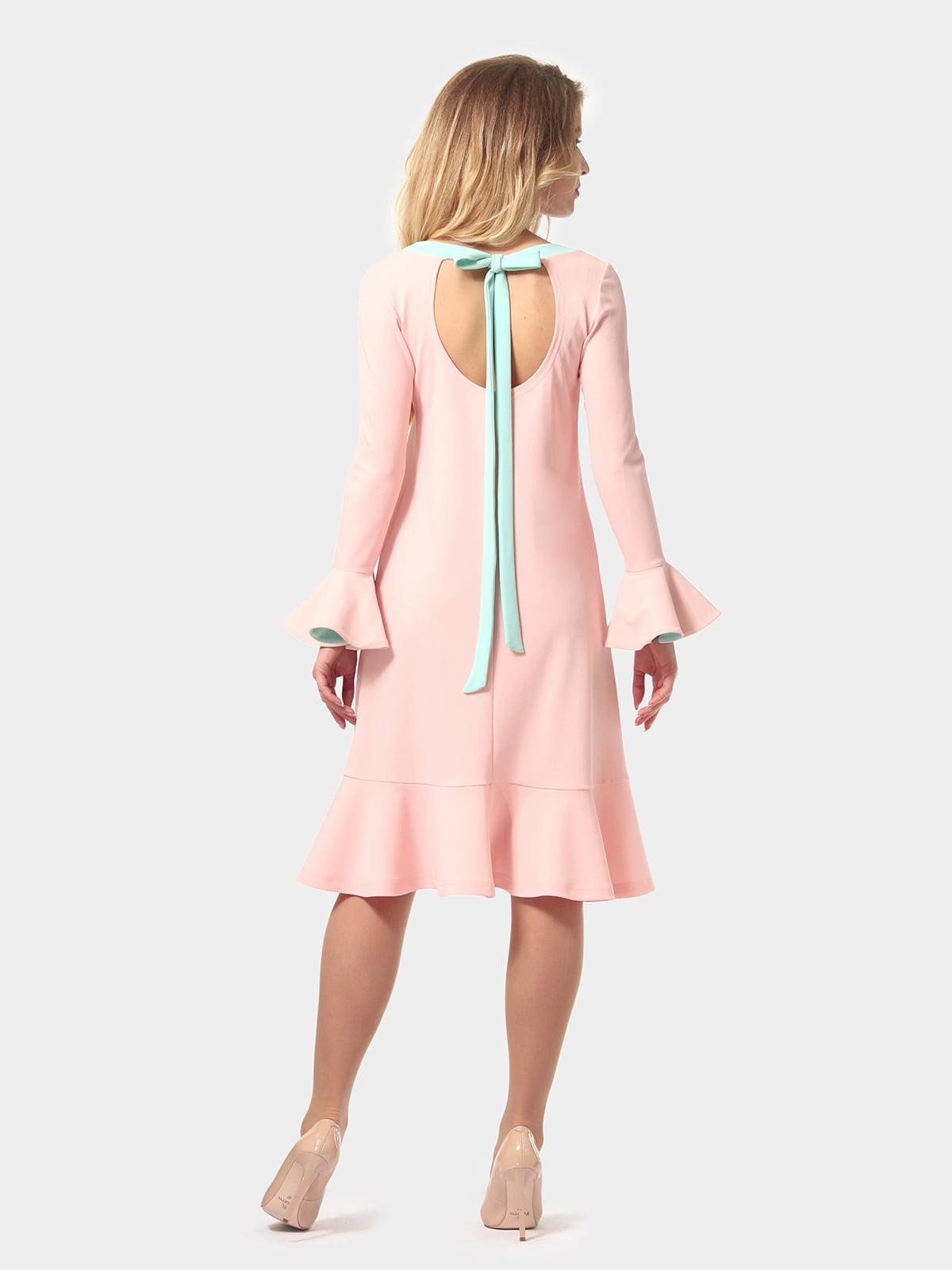 Платье цвета пудры   4784927   фото 7