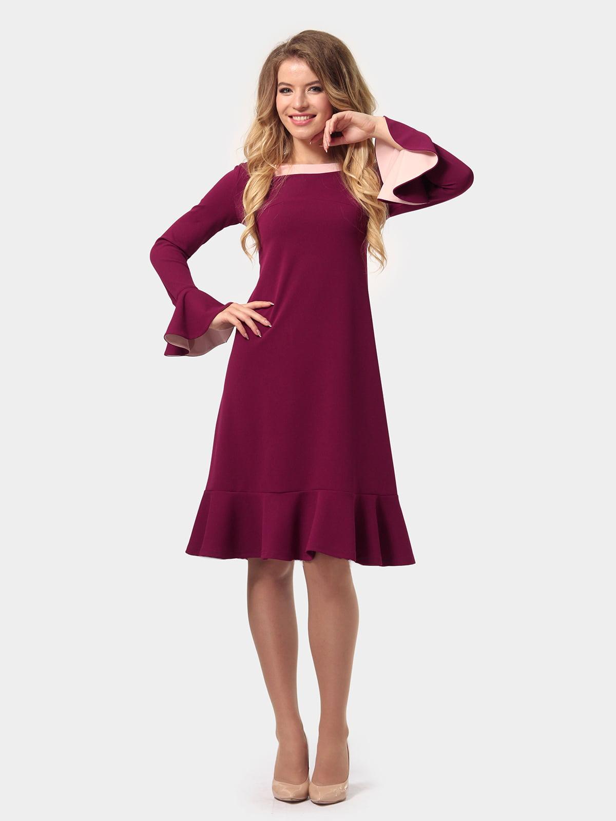 Платье цвета фуксии   4784928