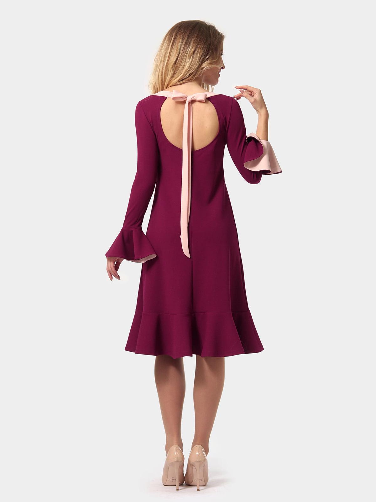 Платье цвета фуксии   4784928   фото 4