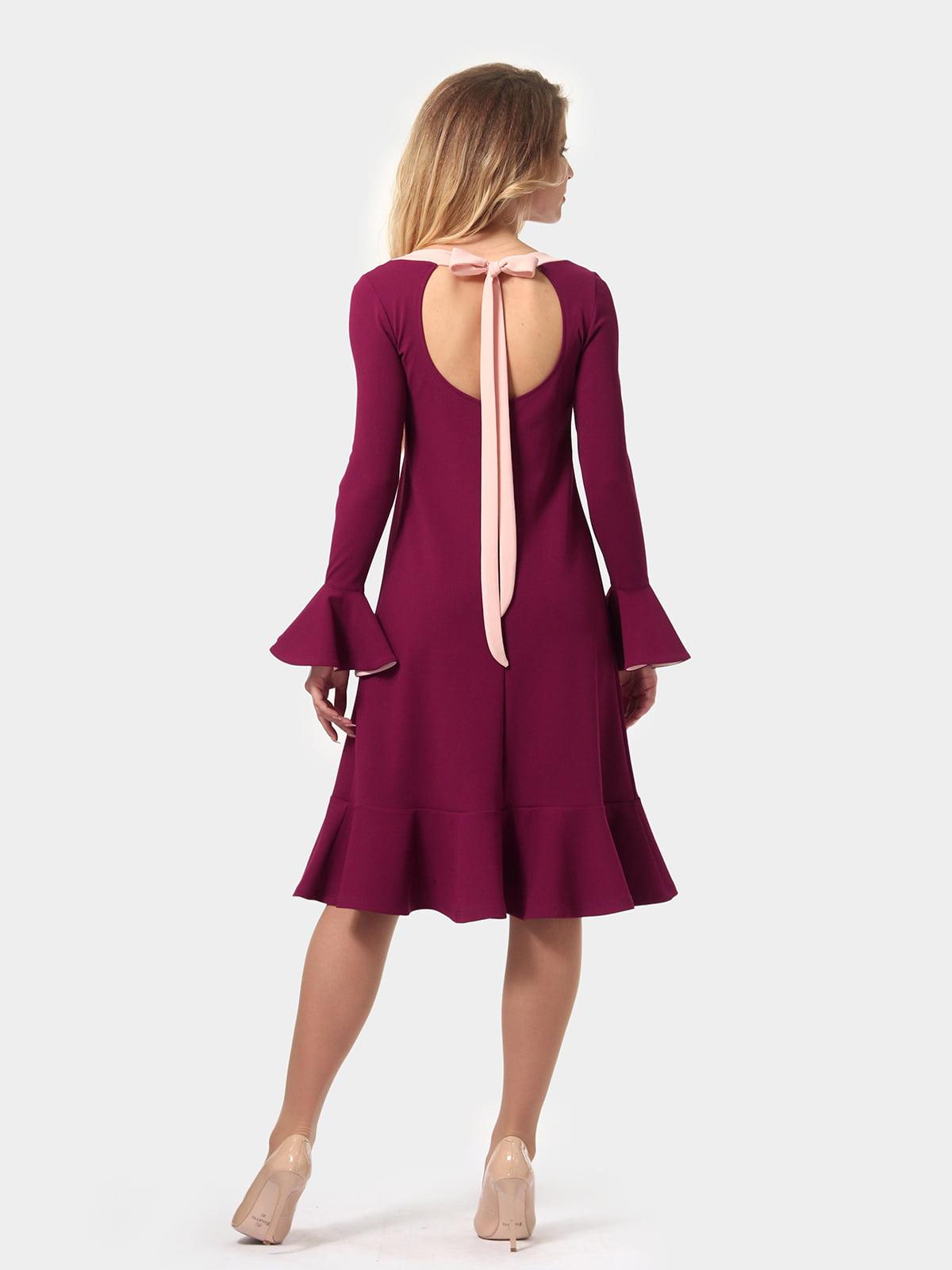 Платье цвета фуксии   4784928   фото 5