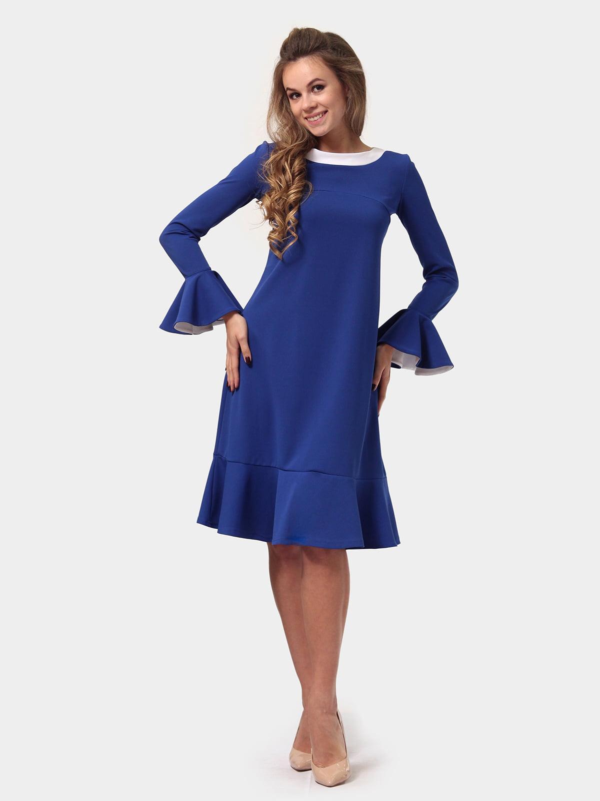 Платье цвета электрик   4784930