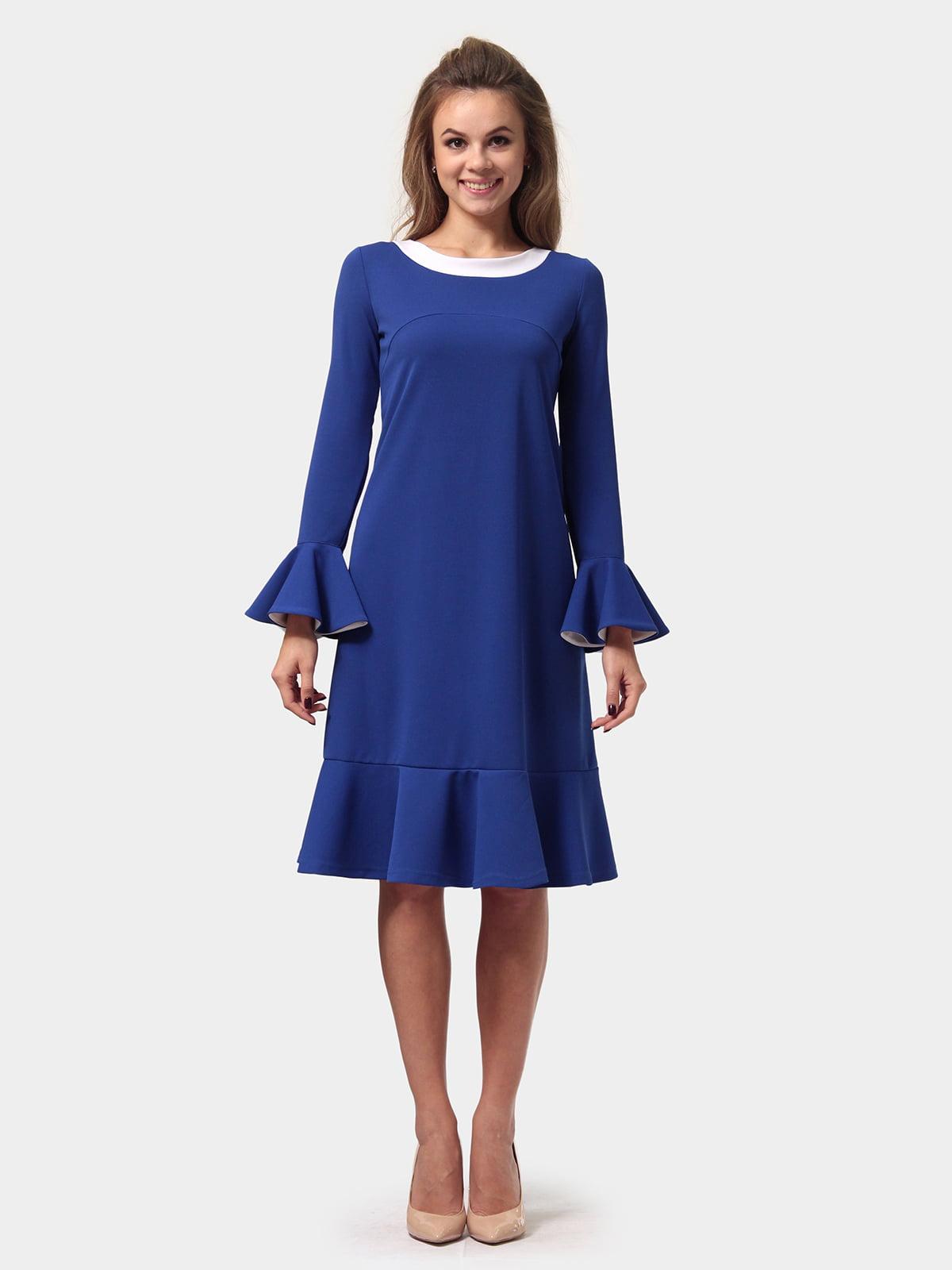 Платье цвета электрик   4784930   фото 2