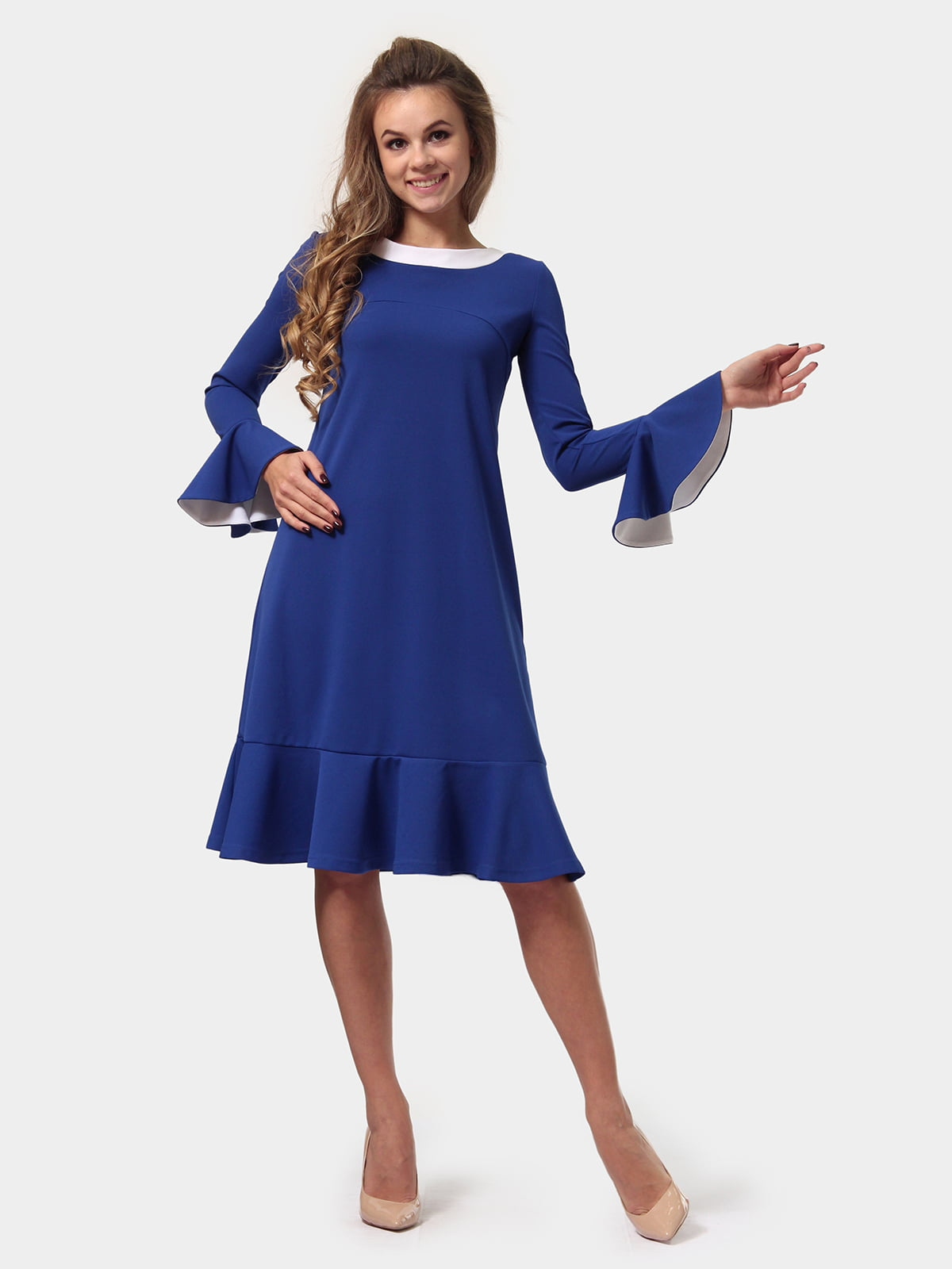 Платье цвета электрик   4784930   фото 4