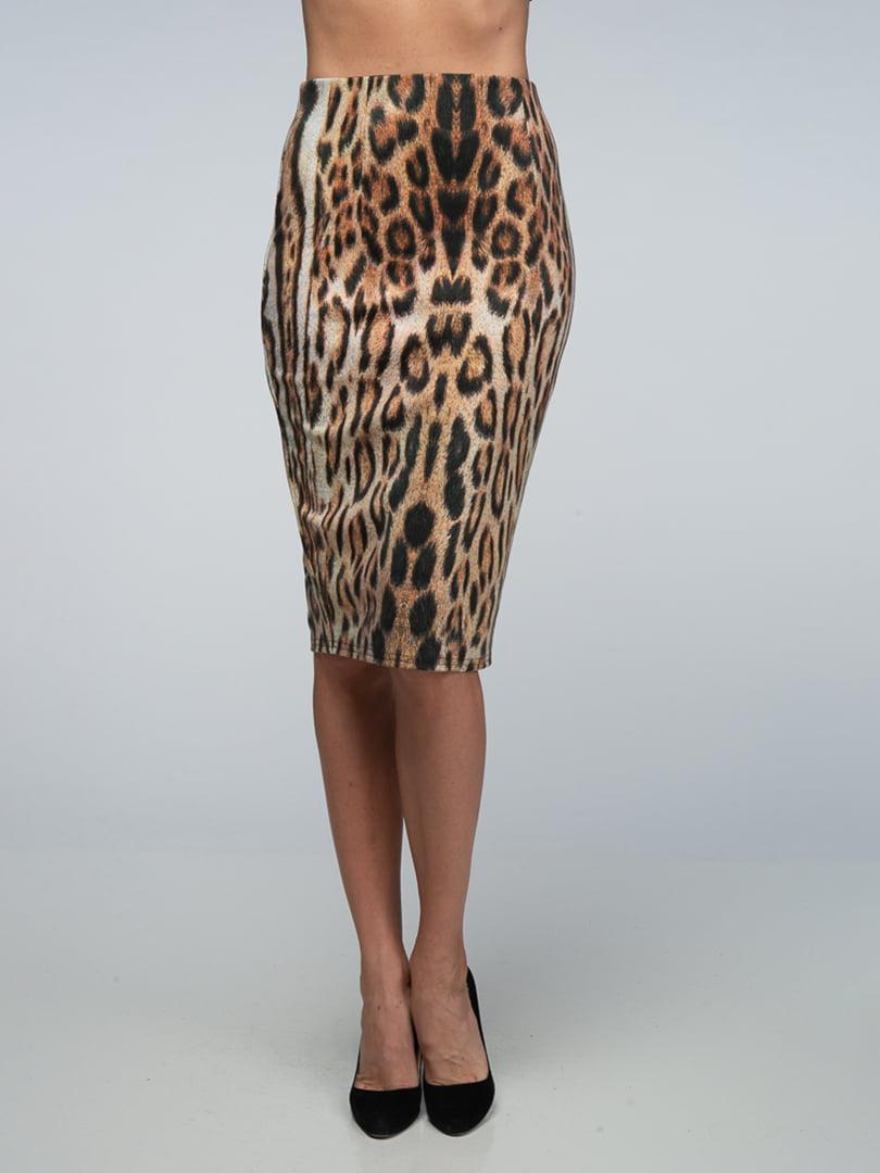 Юбка в леопардовый принт | 4785454