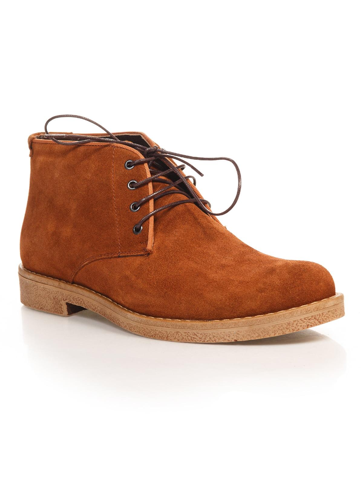 Ботинки рыжего цвета | 4771478