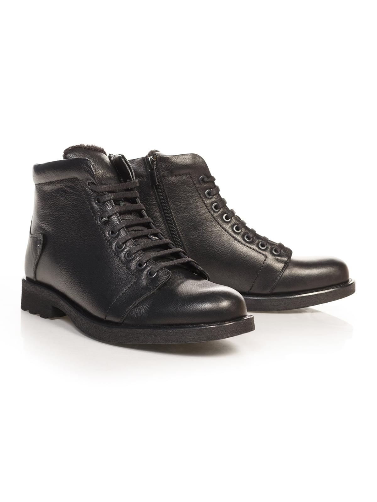 Ботинки черные | 4771485