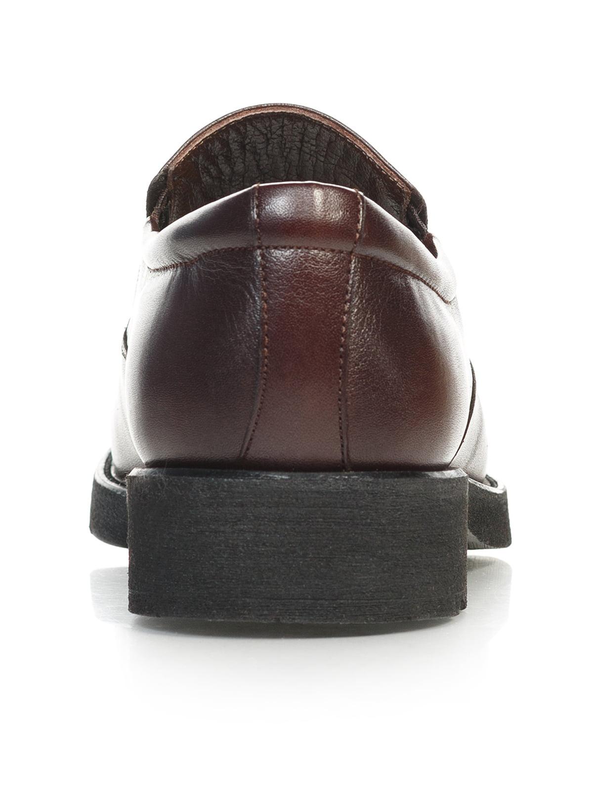 Туфли коричневые | 4783694 | фото 4