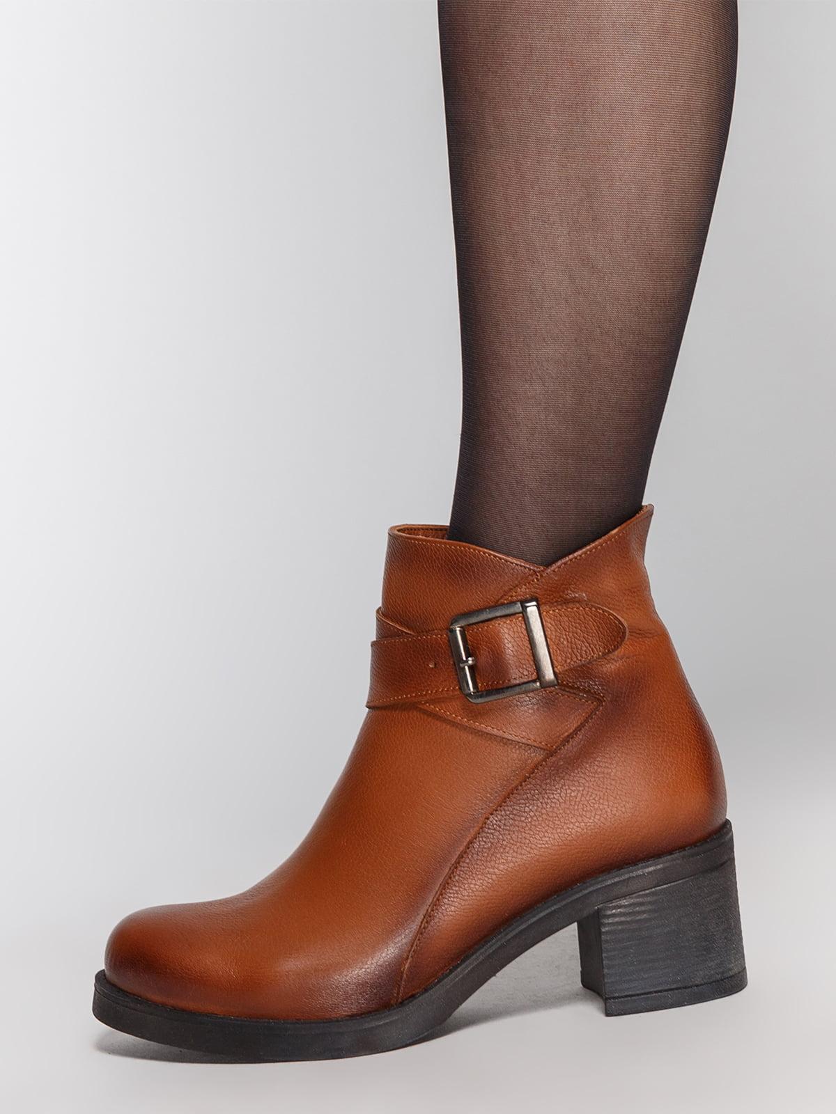 Ботинки коричневые | 4771467 | фото 7