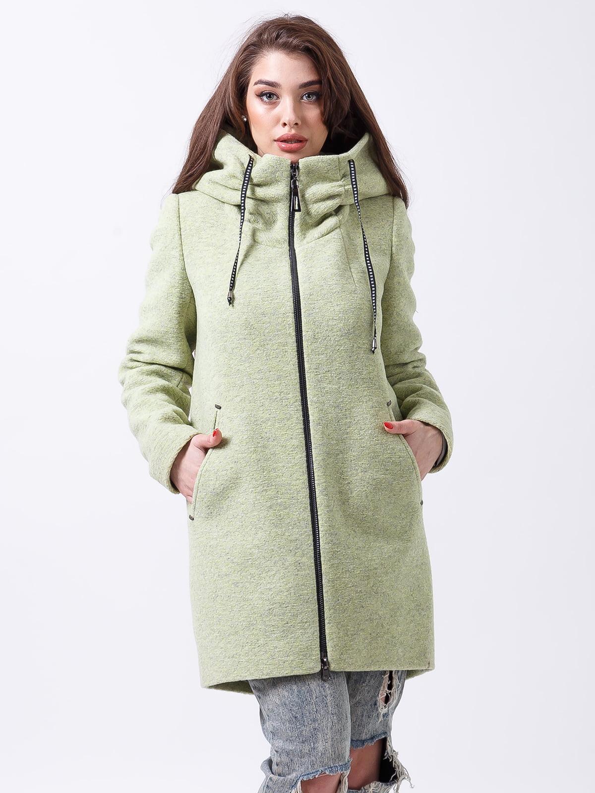 Пальто цвета лайма | 4466293