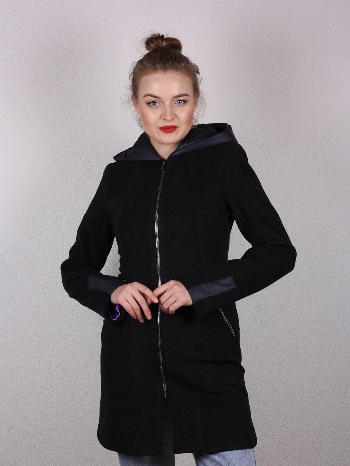 Пальто черное   4770580