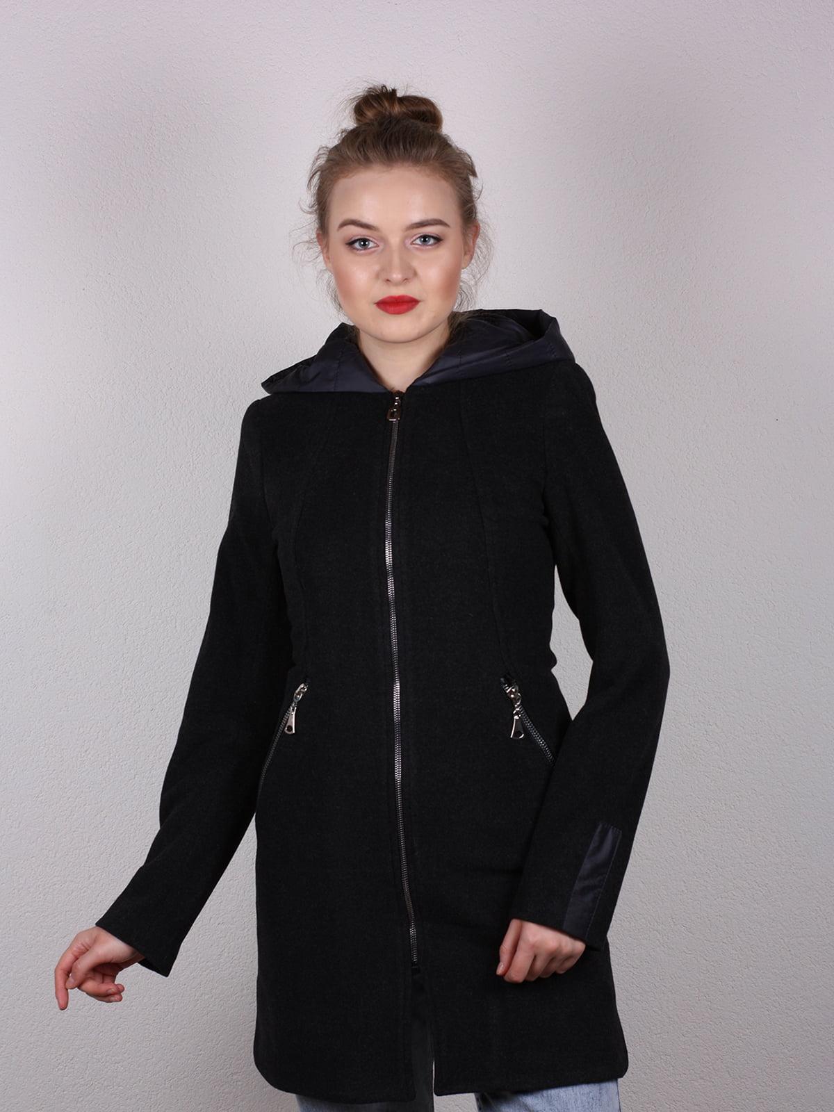 Пальто черное   4770580   фото 2