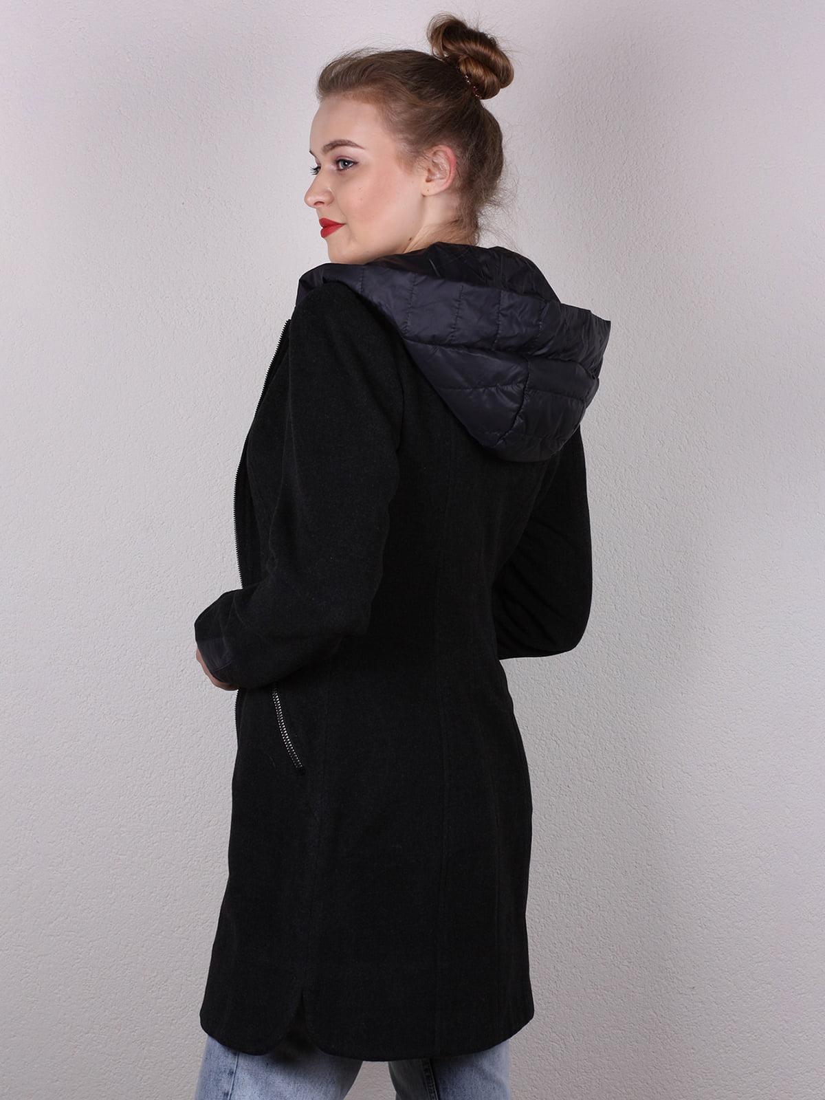 Пальто черное   4770580   фото 4