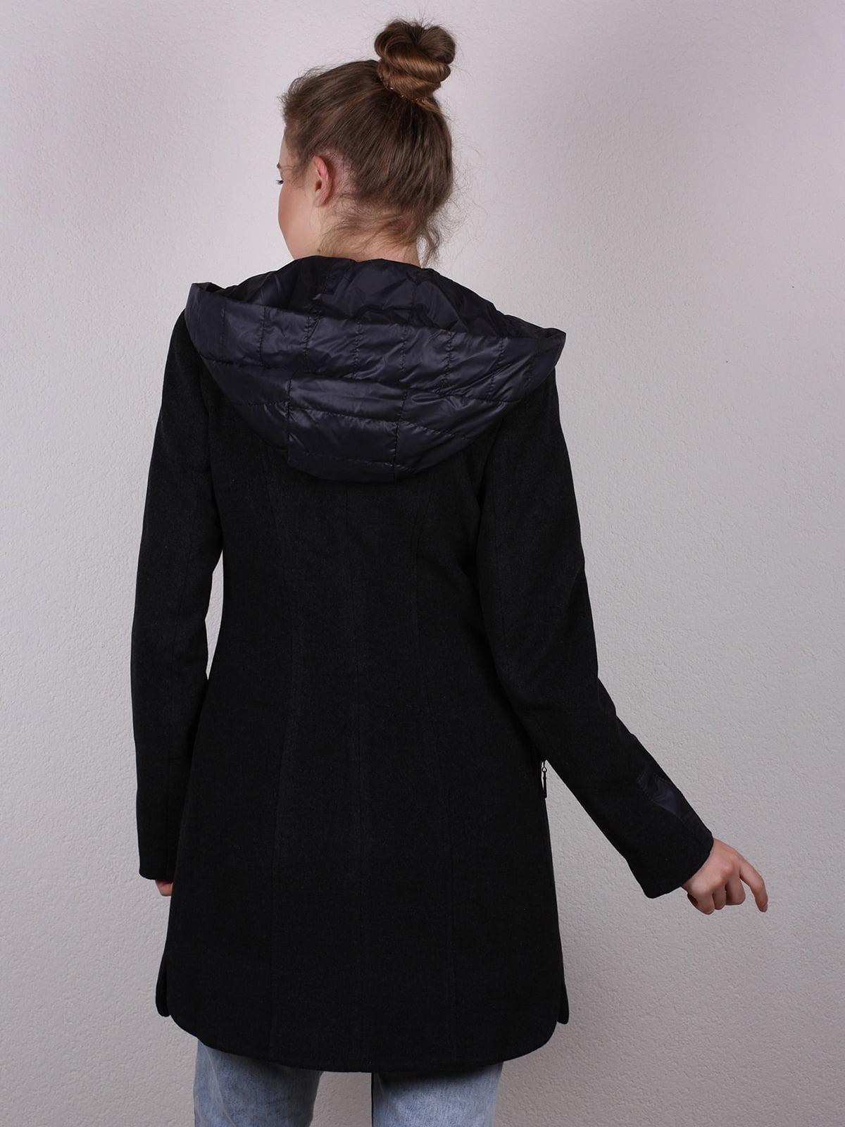 Пальто черное   4770580   фото 5