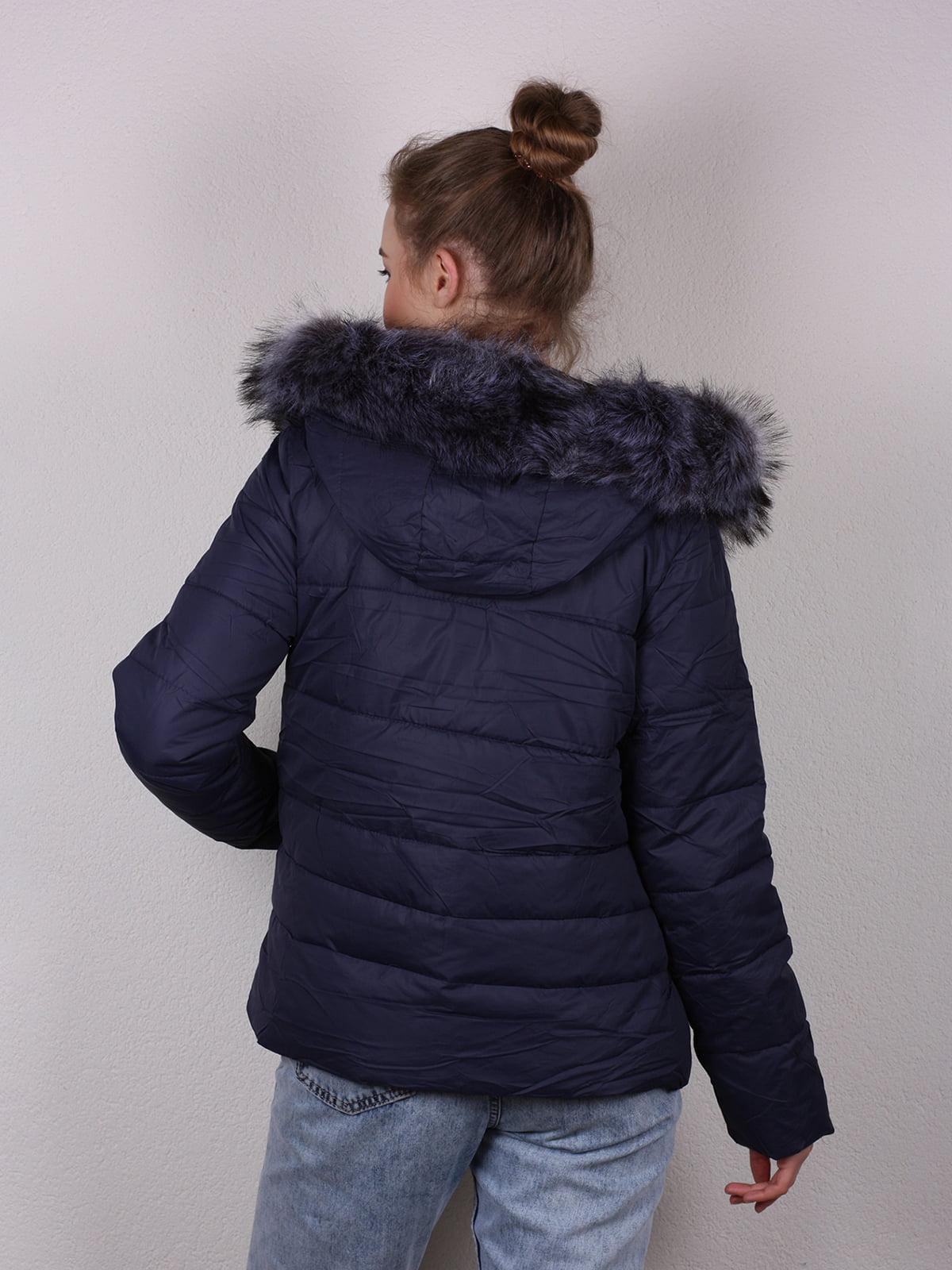 Куртка темно-синяя | 4770581 | фото 3