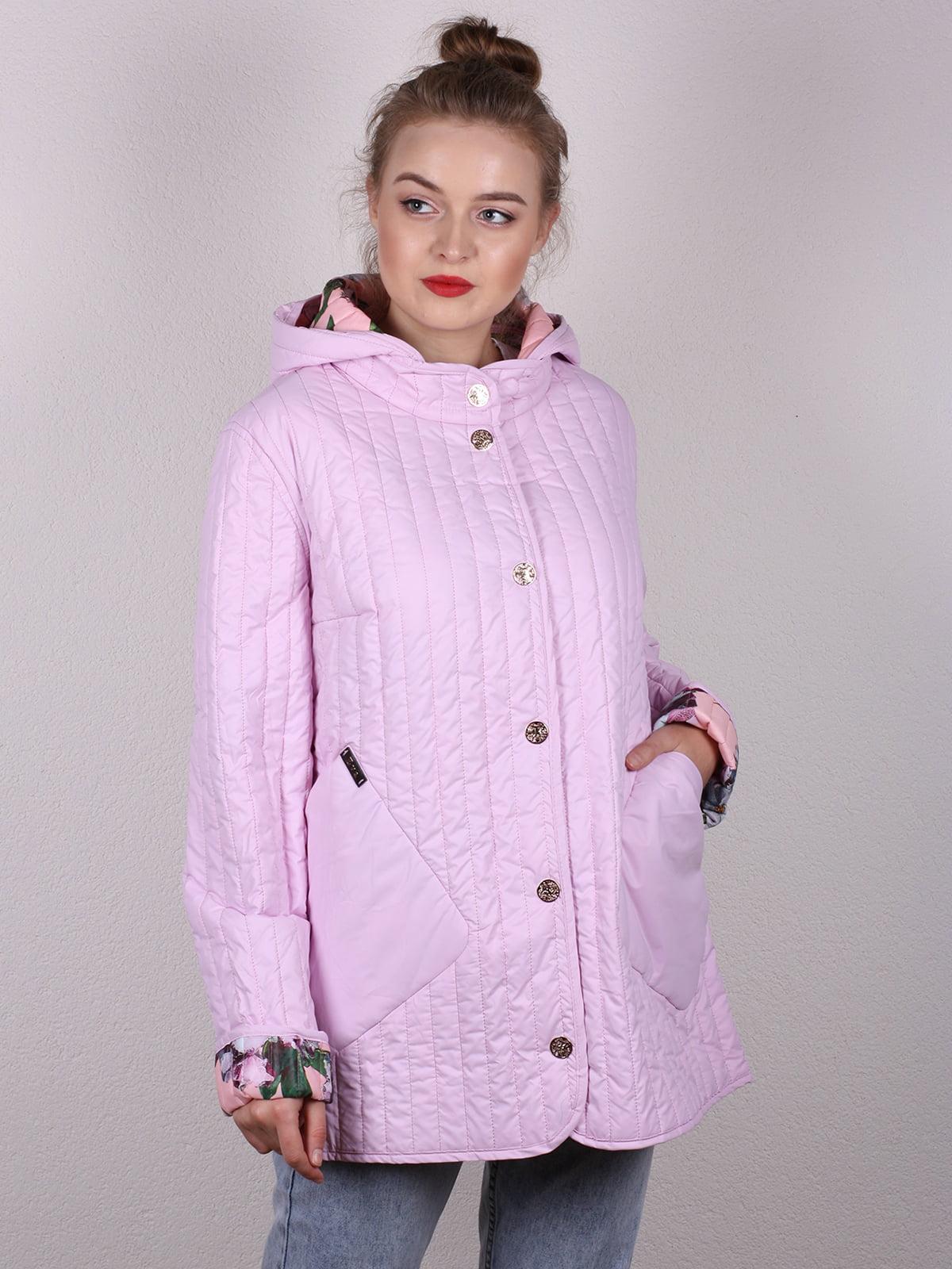Куртка розовая   4770582