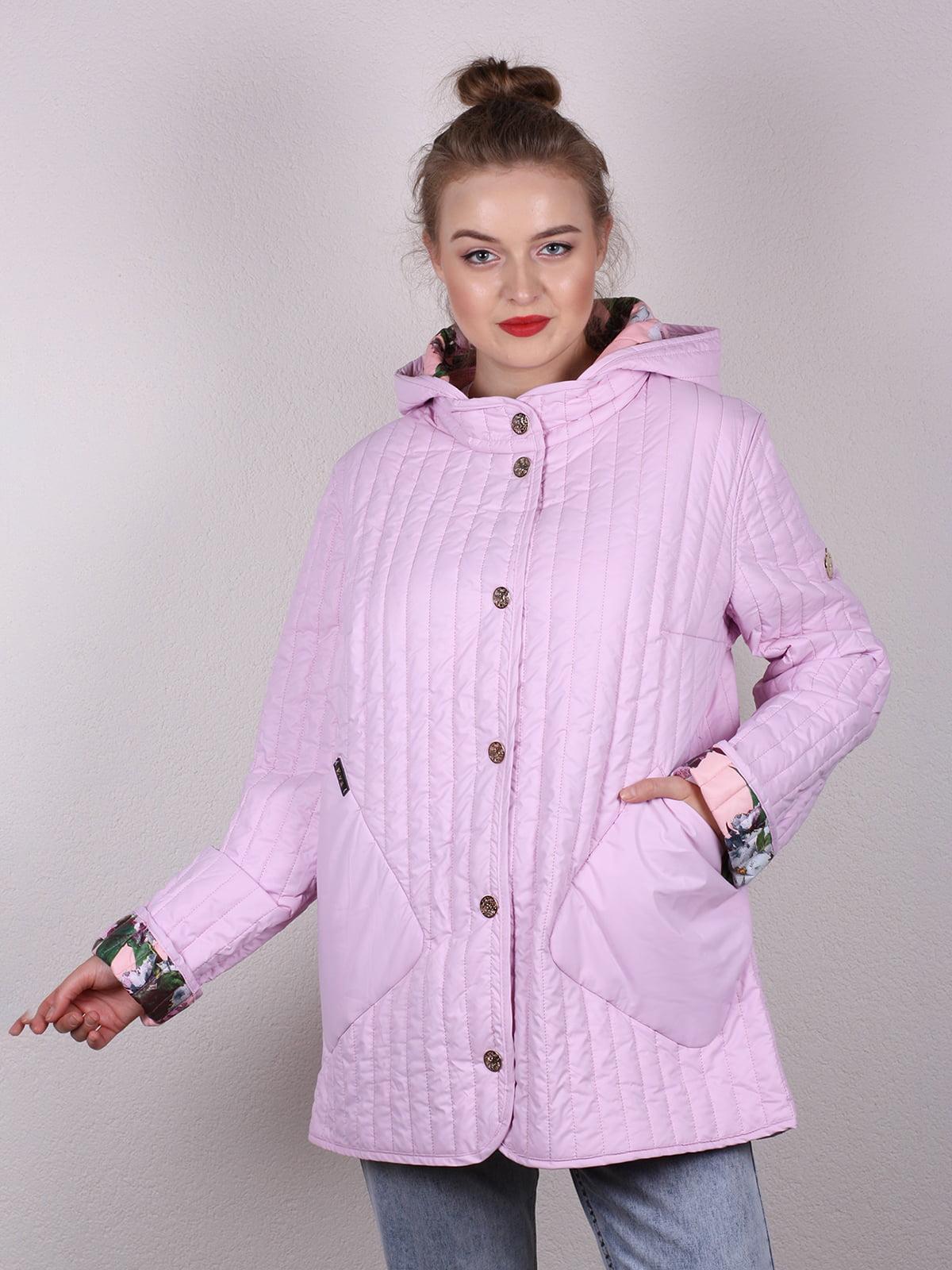 Куртка розовая   4770582   фото 2