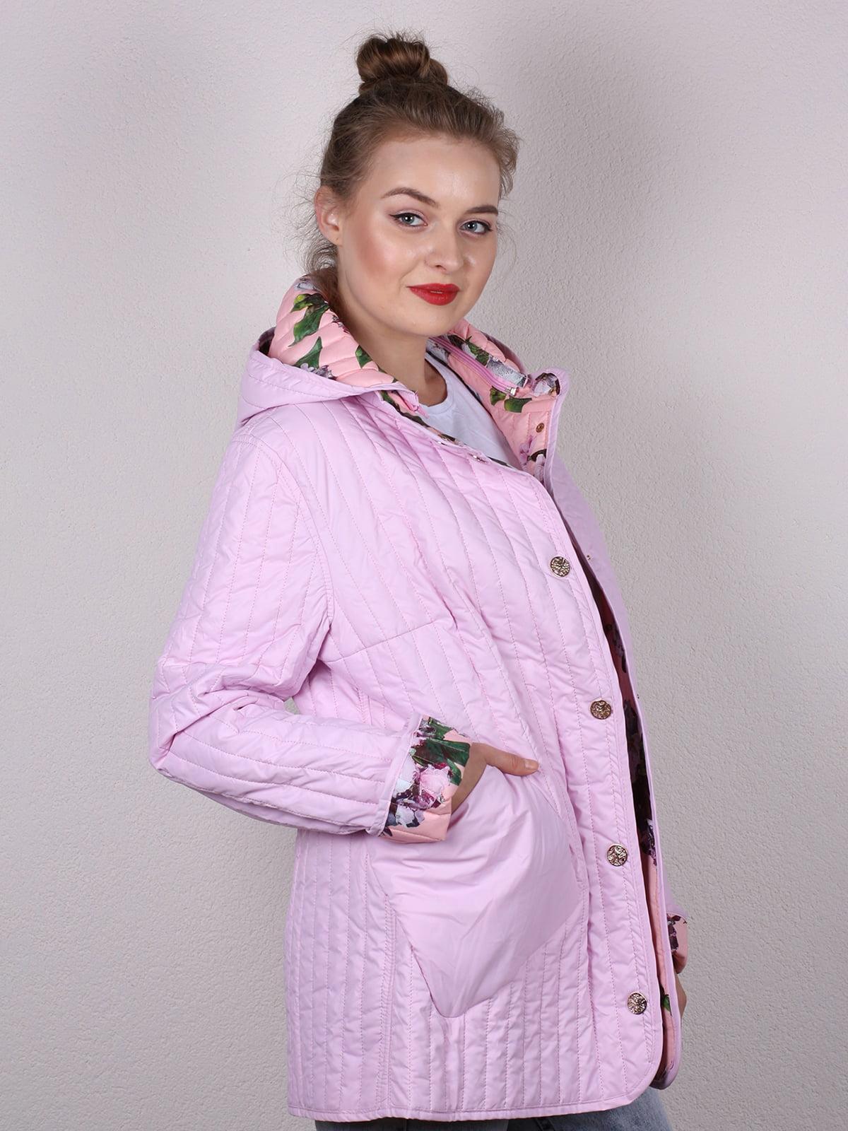 Куртка розовая   4770582   фото 4
