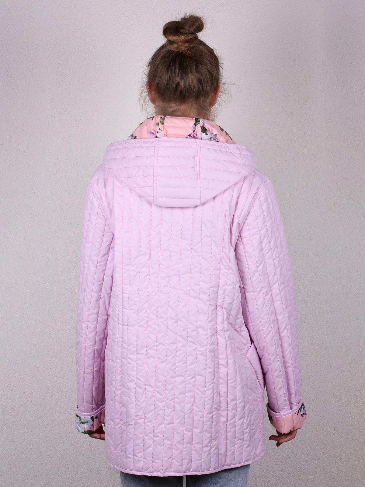 Куртка розовая   4770582   фото 5
