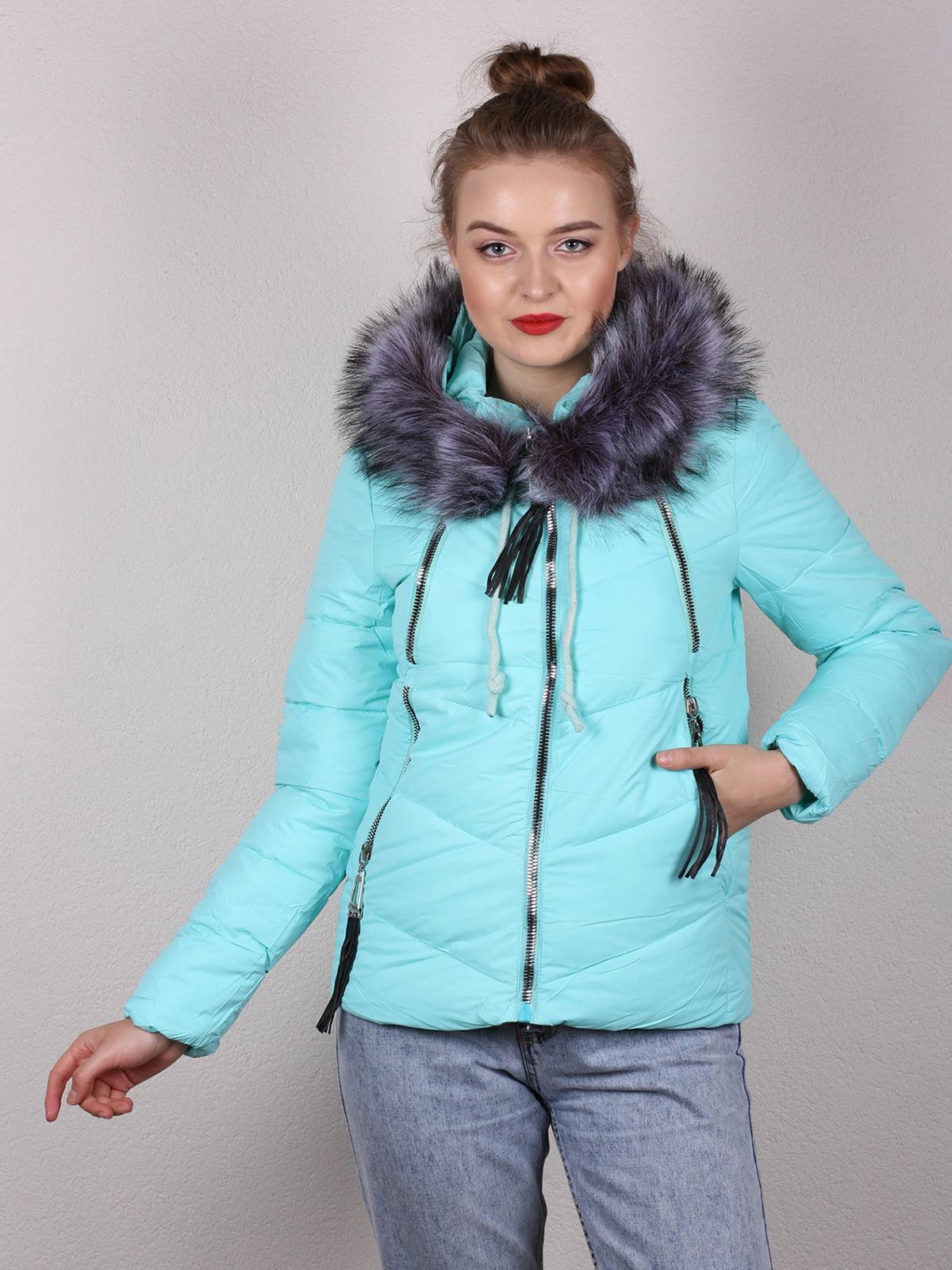 Куртка мятного цвета | 4770587