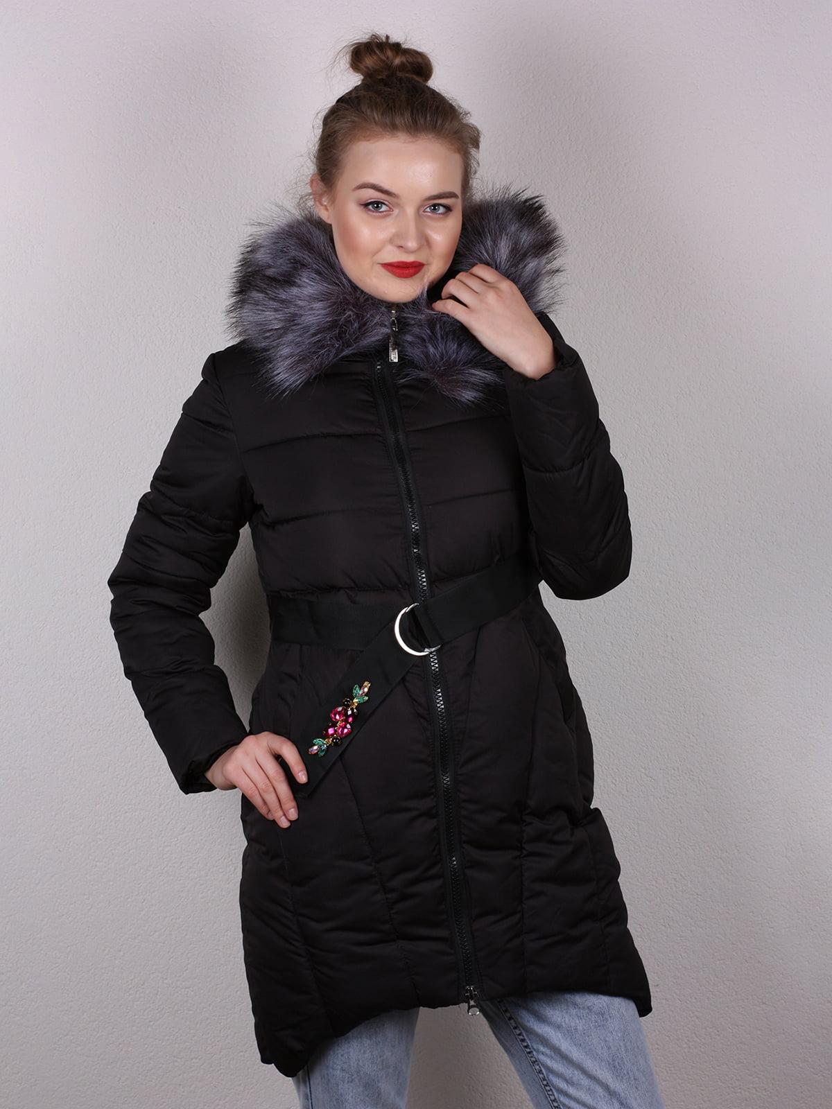 Пальто черное   4770590