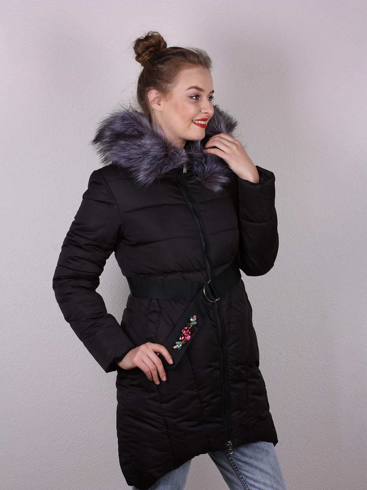 Пальто черное   4770590   фото 2