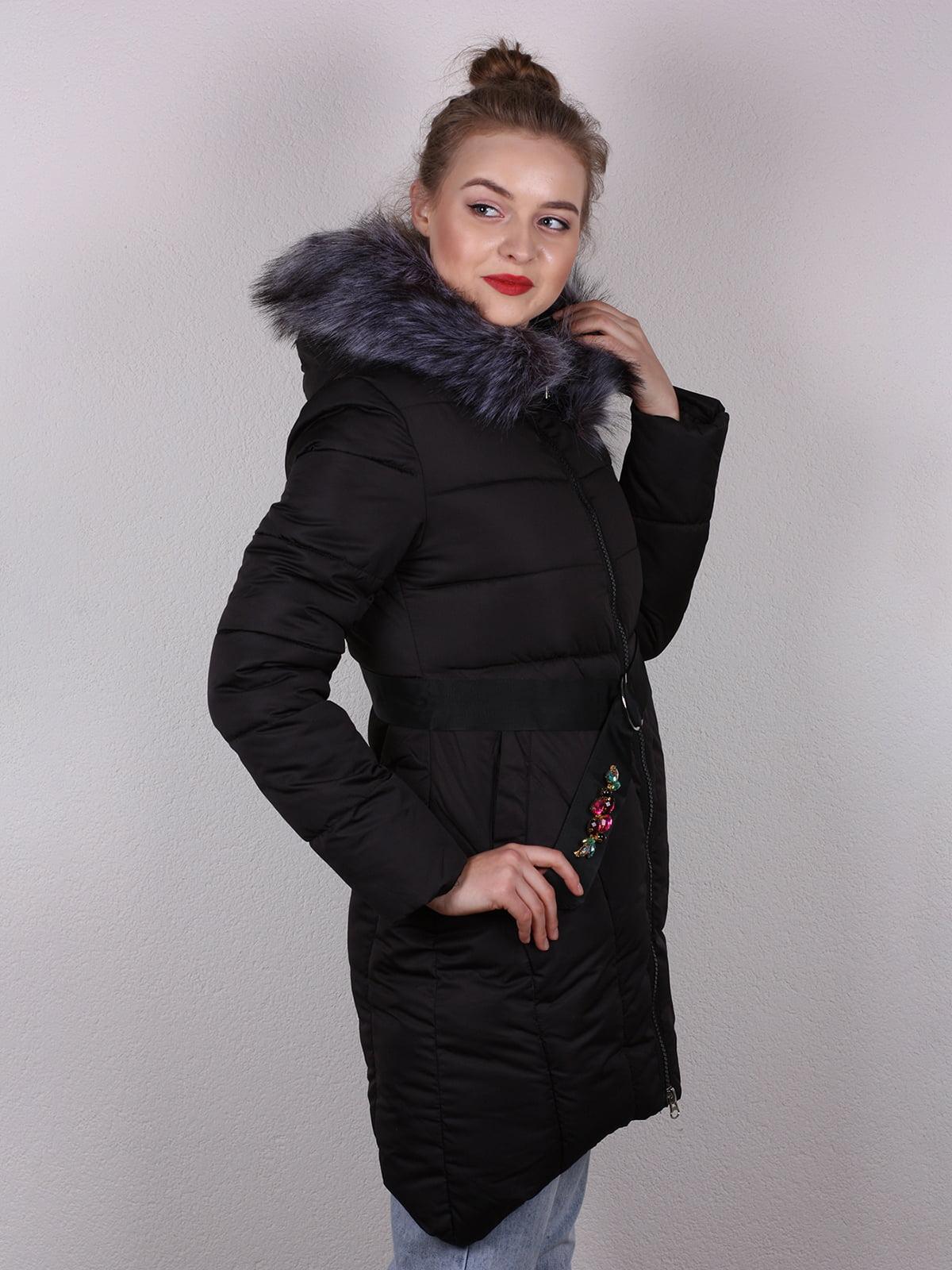 Пальто черное   4770590   фото 3