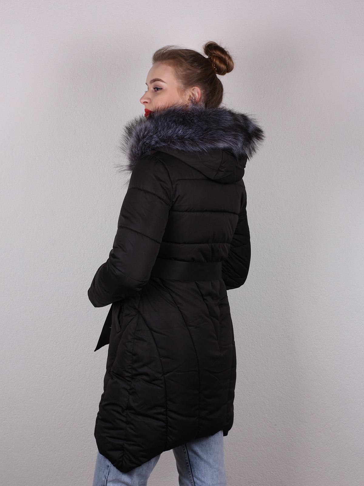 Пальто черное   4770590   фото 4