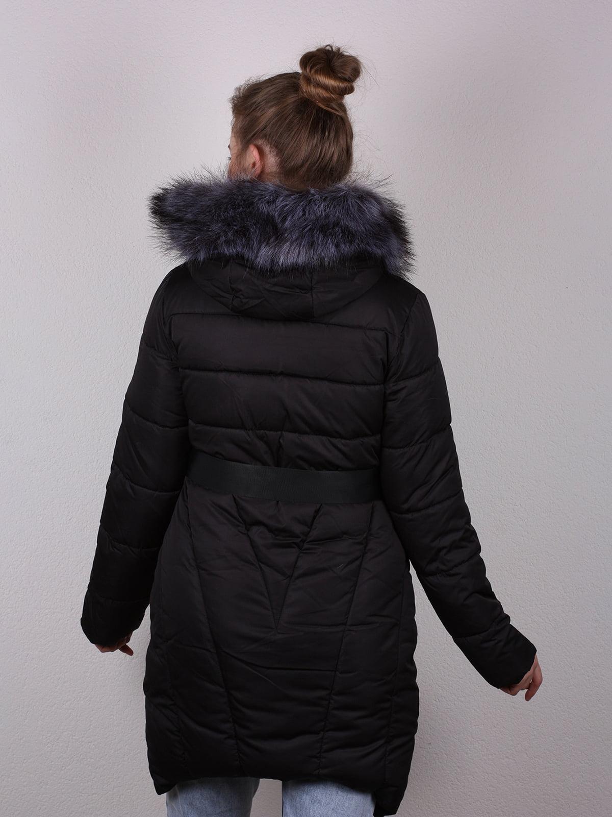 Пальто черное   4770590   фото 5