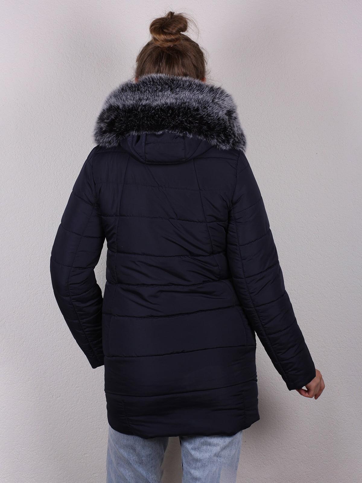 Куртка темно-синяя | 4770608 | фото 5