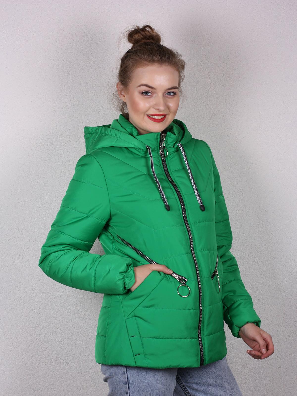 Куртка зеленая | 4770611 | фото 3