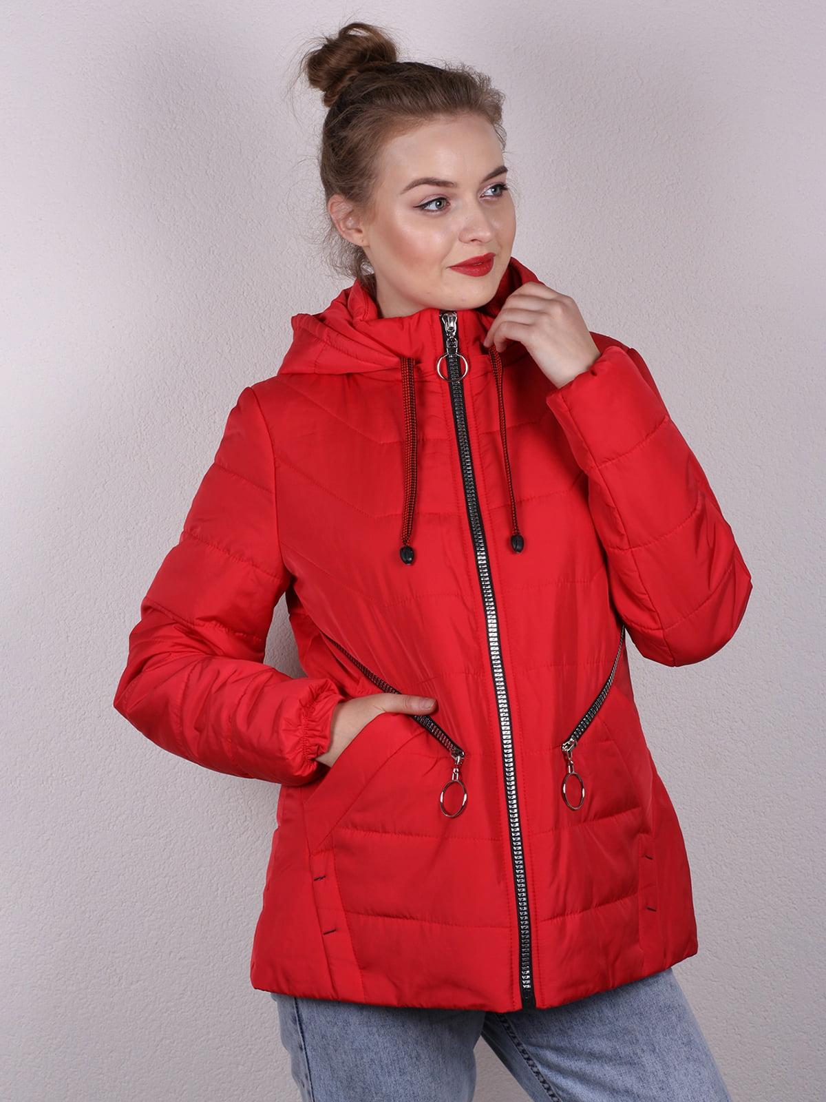 Куртка красная | 4770615