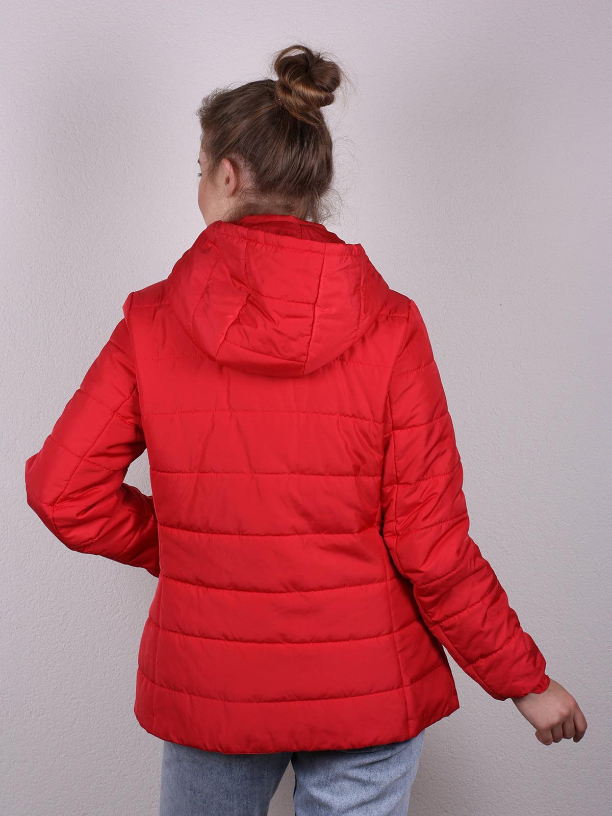 Куртка красная | 4770615 | фото 3