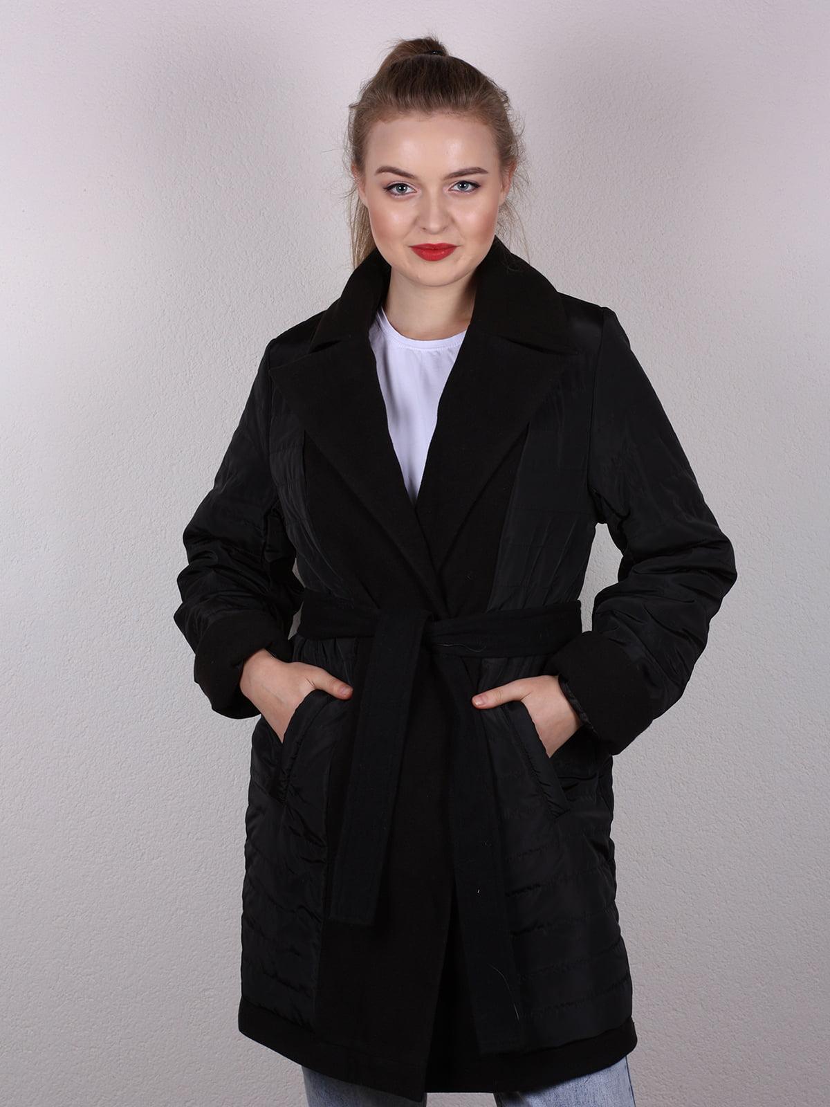 Пальто черное | 4770616 | фото 2