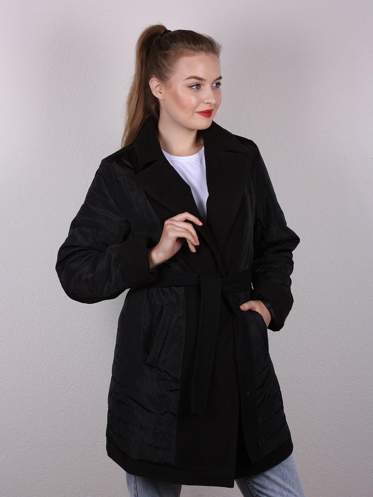 Пальто черное | 4770616 | фото 3