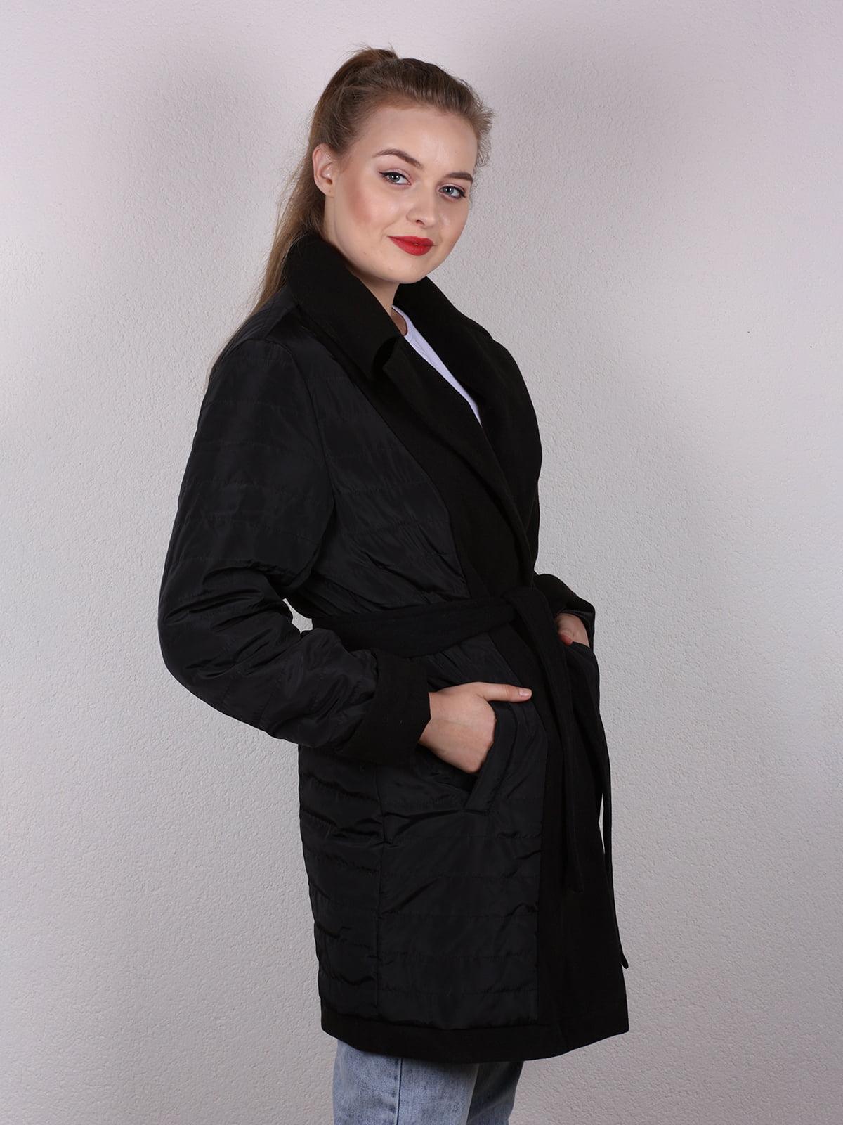 Пальто черное | 4770616 | фото 4