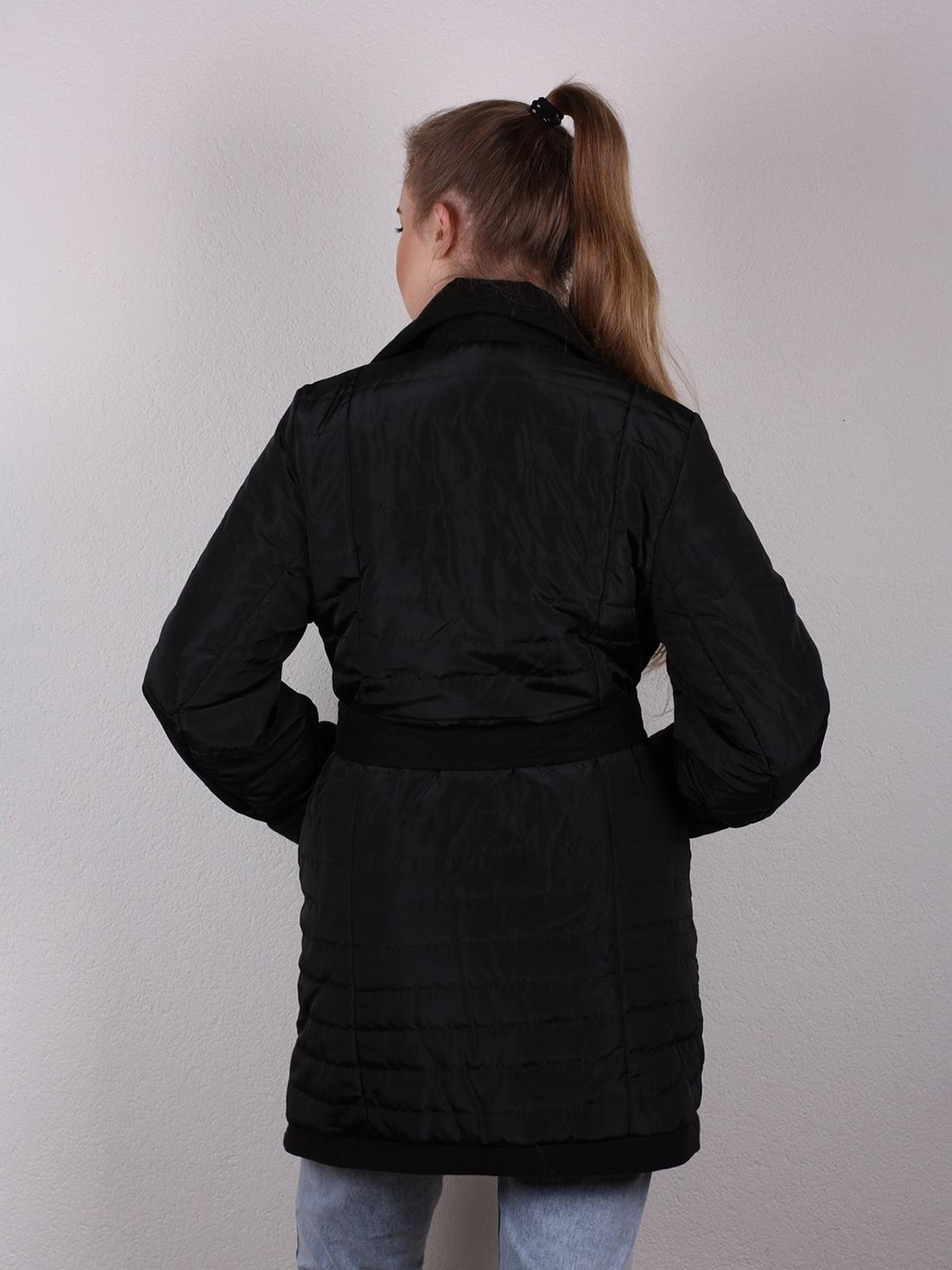 Пальто черное | 4770616 | фото 5