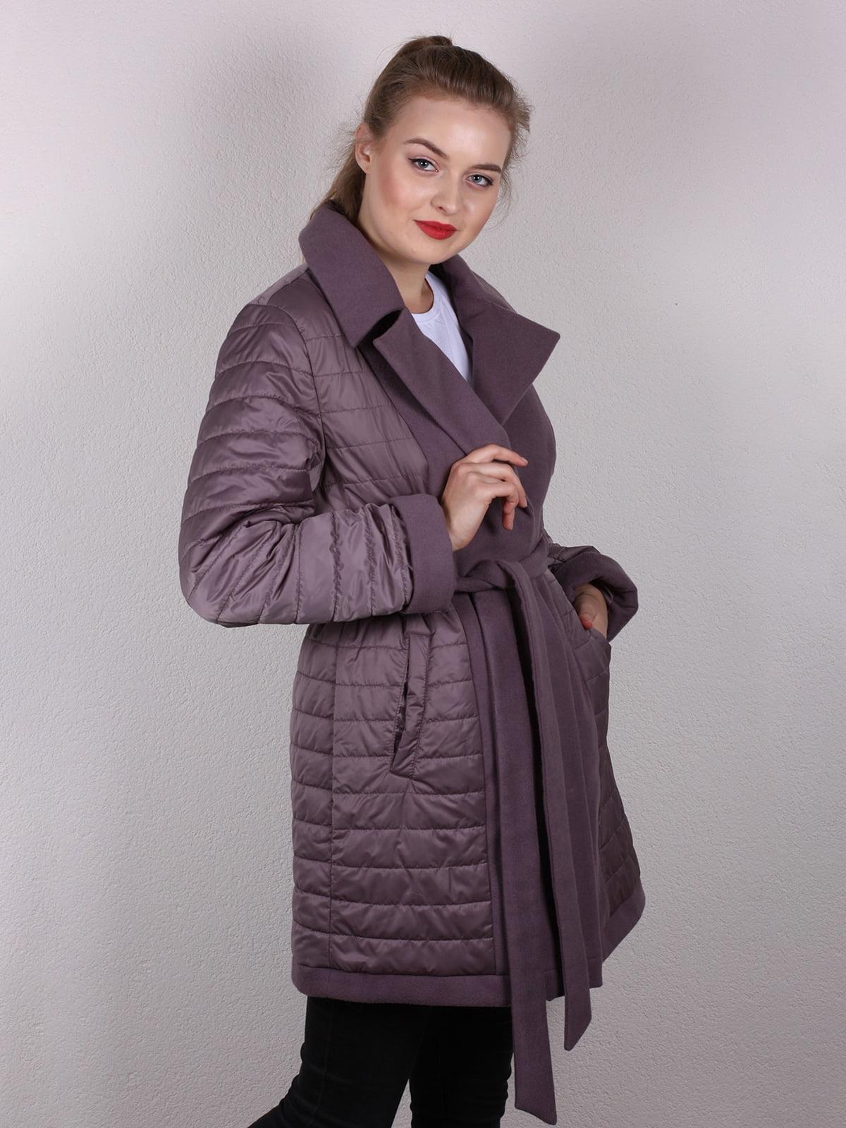 Пальто сиреневое | 4770643