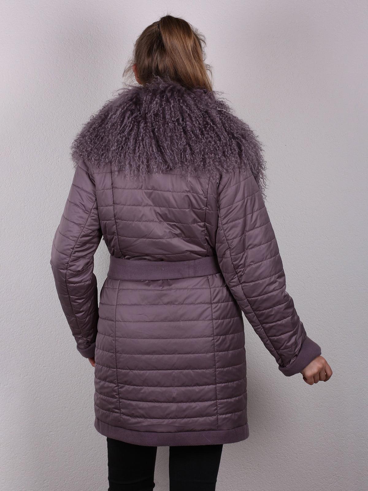 Пальто сиреневое | 4770662 | фото 12