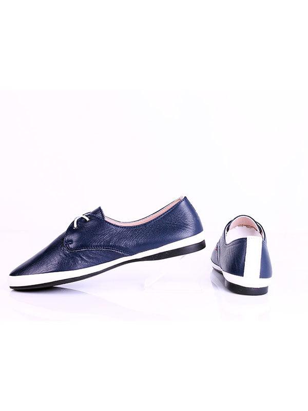 Туфли синие | 4198874 | фото 2