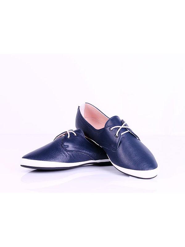Туфли синие | 4198874 | фото 3