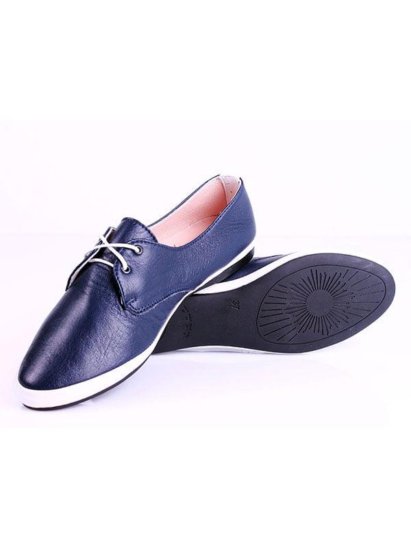 Туфли синие | 4198874 | фото 4