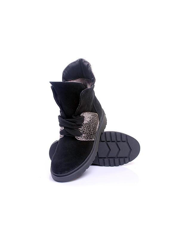 Ботинки черные   4777980