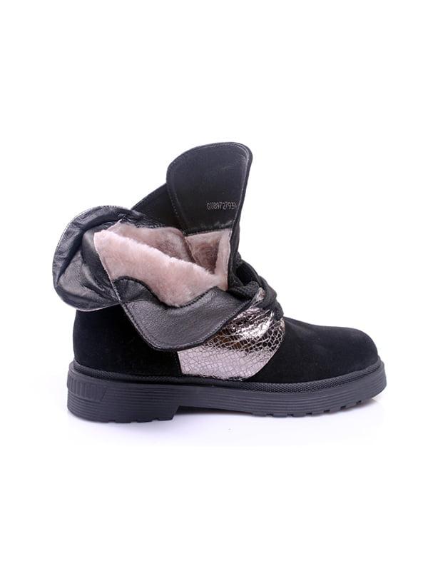 Ботинки черные   4777980   фото 2