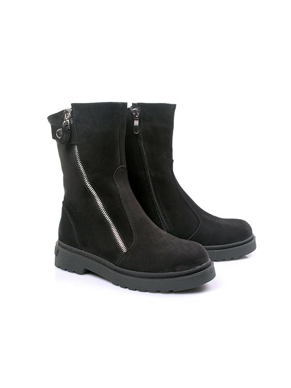 Ботинки черные | 4791581