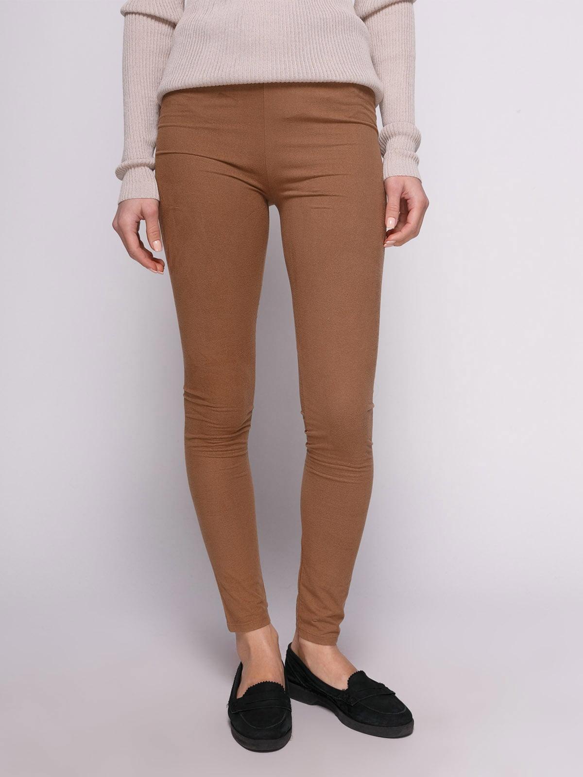 Штани коричневі | 4639841
