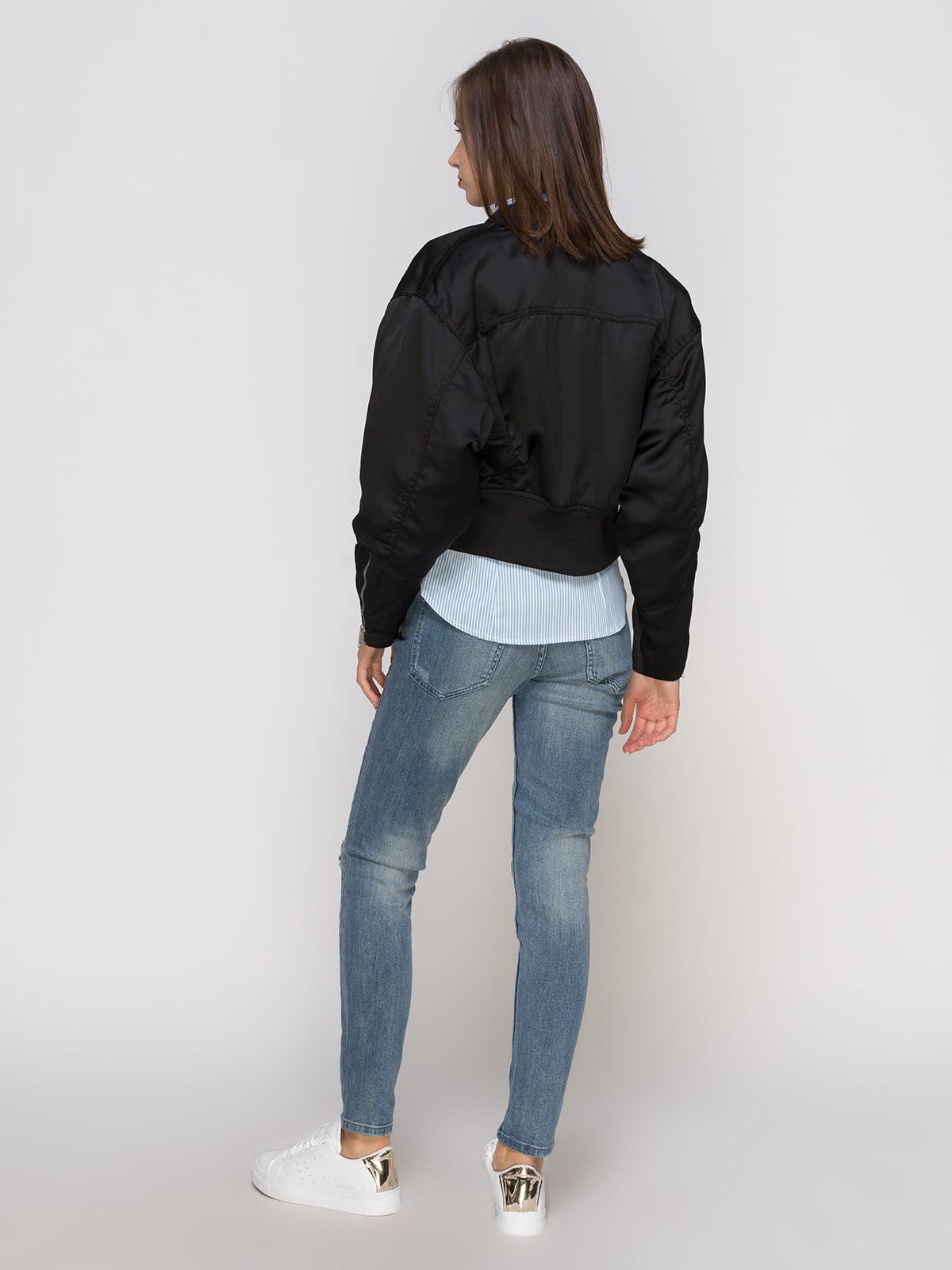 Куртка черная | 4775967 | фото 3