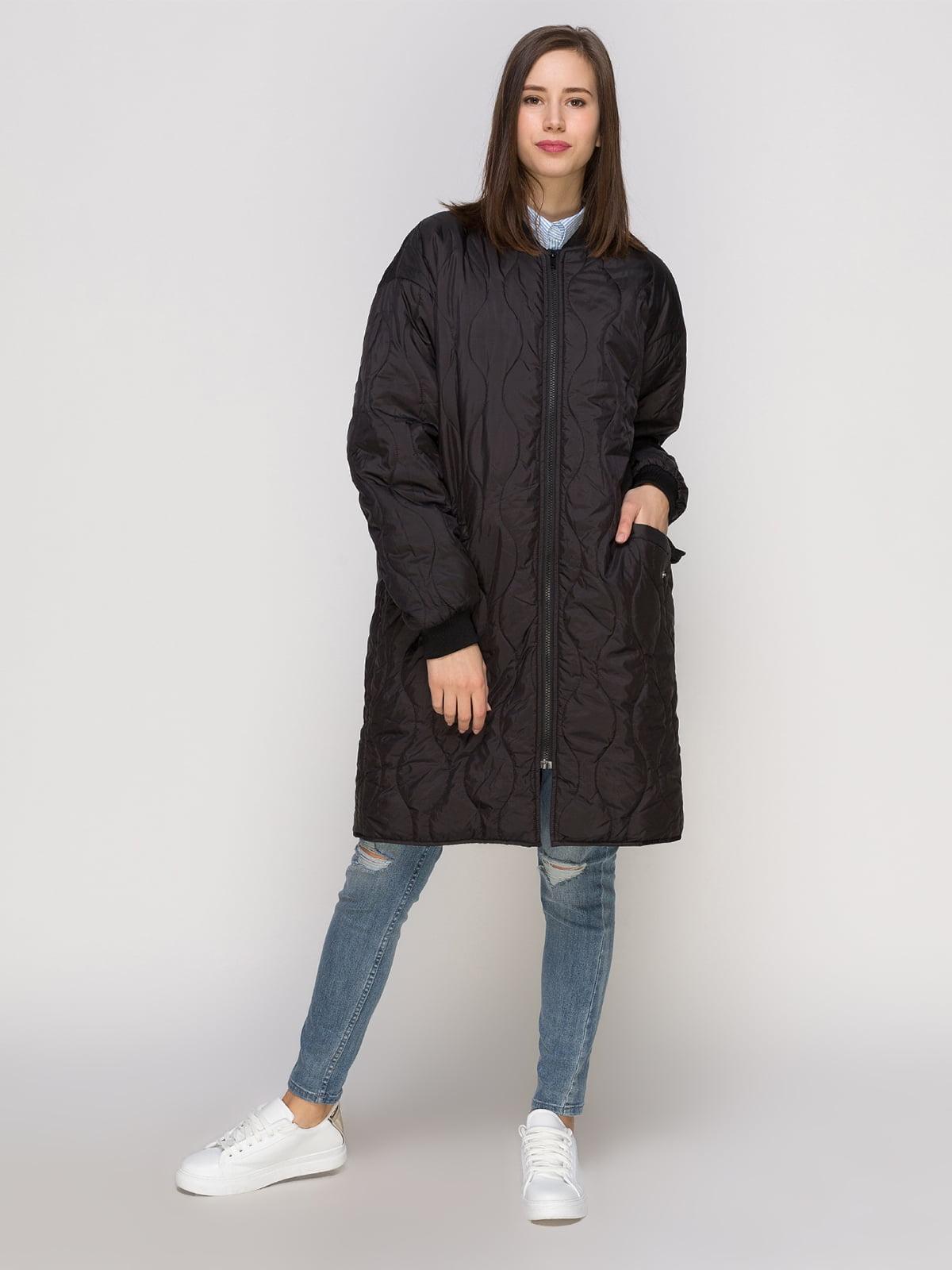 Пальто черное | 4775134 | фото 2